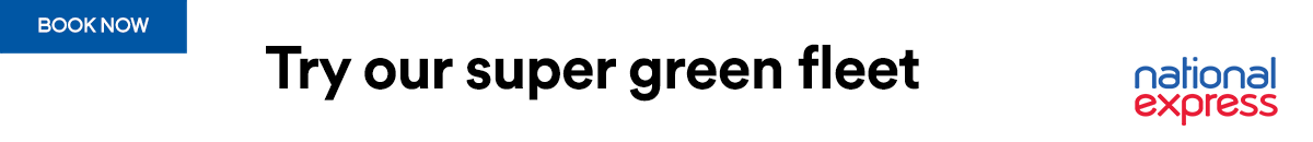 Banner for National Express September 2021