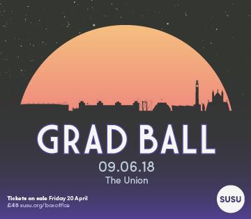 Grad Ball spotlight