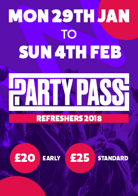 REFRESHERS PARTYPASS 2018 - Final Release