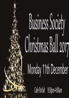 BusSoc Presents: Christmas Ball - Early Bird