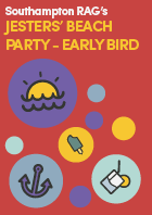 EARLY BIRD Jesters Beach Party