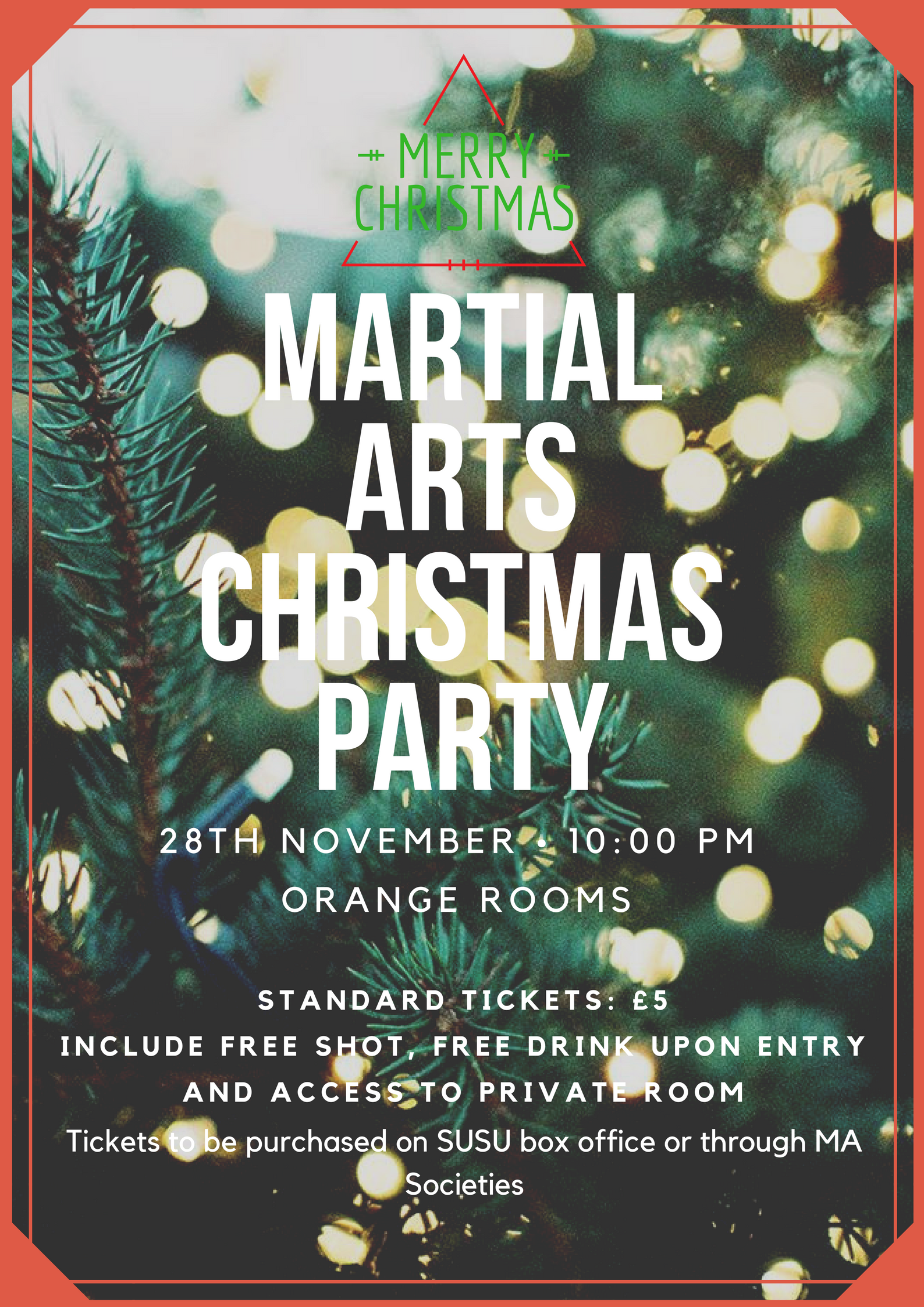 Martial Arts Christmas Party