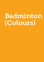 Badminton (Colours) Half Year membership