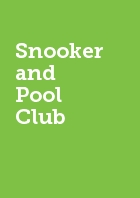 Snooker and Pool Club Semester Two Membership