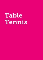 Table Tennis SUTTC Recreational Semester 1 Membership