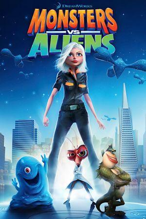 union films review monsters vs aliens